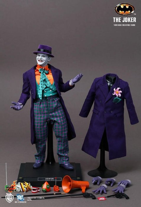 HOT TOYS DX08 小丑 JOKER 蝙蝠俠 1989年電影版