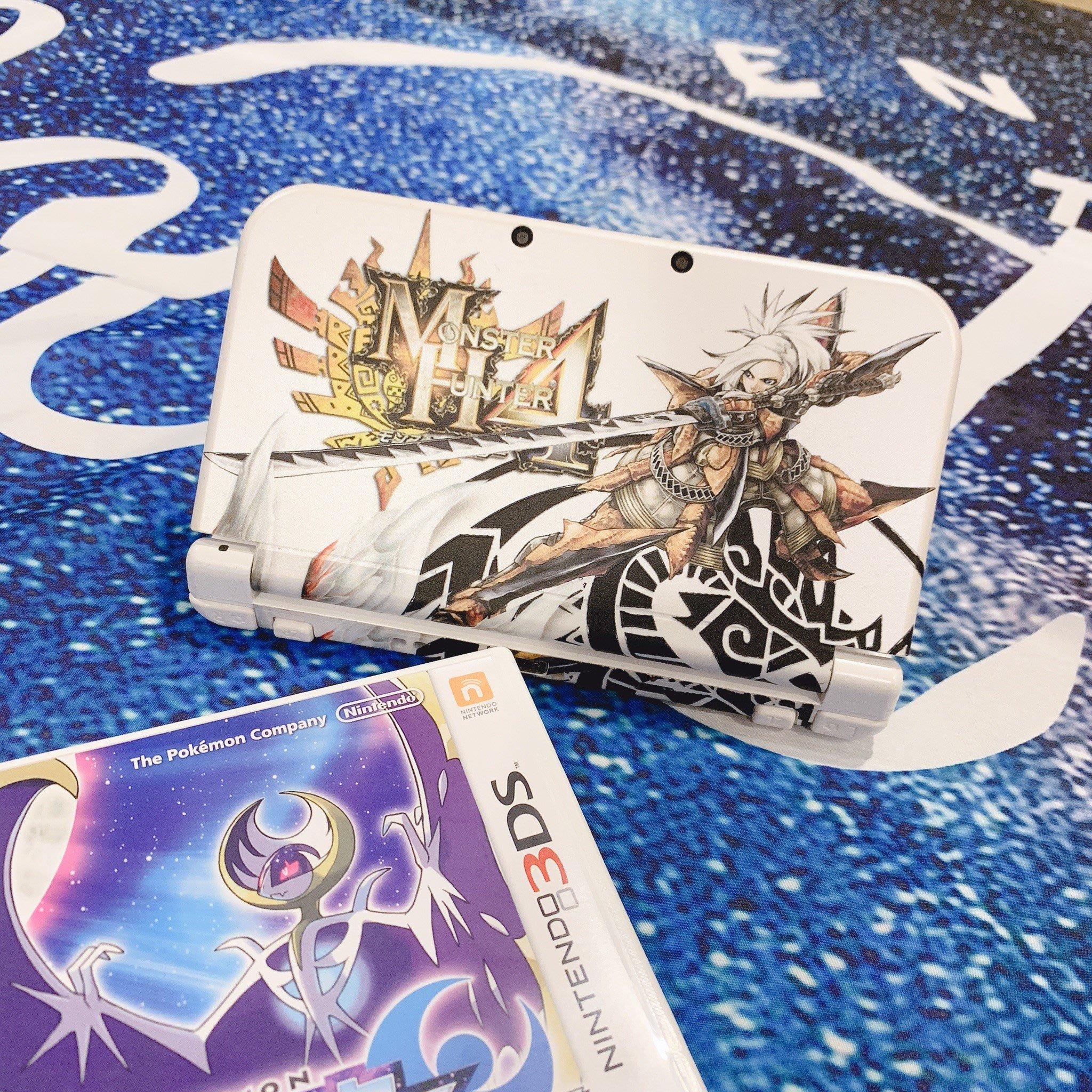 極致新 任天堂 Nintendo NEW 3DSLL 主機 日規白 寶可夢 月亮 PS4 Switch Xbox wii