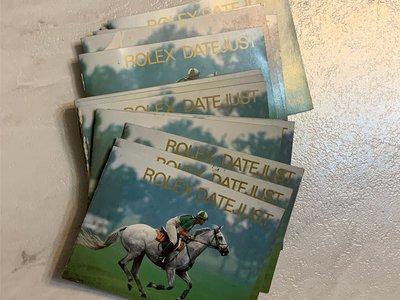 Rolex 勞力士原廠手冊 ♛特價出清♛ Date Just DJ 16013 16014 16233 16234 每本300元 1988-1995 中英文都有 台北市