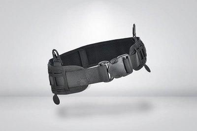 [01] 領航者 可調式 勤務腰封 黑 ( 皮帶 腰帶 外腰帶 S腰帶 戰術腰帶 配件 槍套 腰掛 腿掛 槍包 腰包