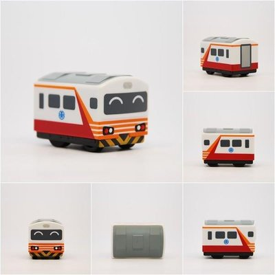 【專業模型】鐵支路 QV017 臺鐵EMU1200紅斑馬 迴力小火車