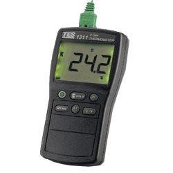 [捷克科技] TES 1312A 溫度計 大型背光LED顯示 可顯示現在最高/最低的溫度