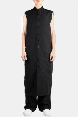 (vincent shop)immense 削肩連身長版襯衫