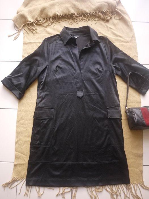【二手精品好衣】GINKOO黑黝連身洋裝 寬鬆版型 38 四季皆宜 幾近全新 衣櫃爆滿清倉特賣價