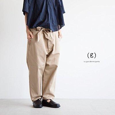 |The Dood Life|日本製 Gauze (g) グラム チノクロスパンツ / gram グラム 繫帶錐形休閒褲