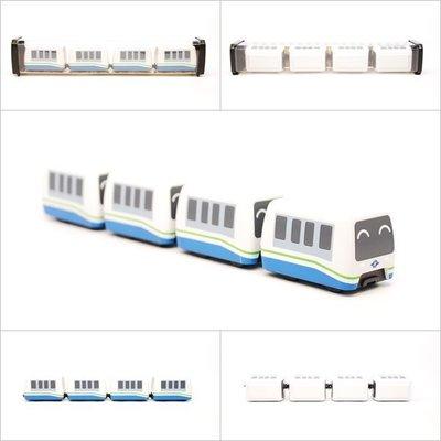 TRAIL 鐵支路 Q版 迴力小列車 台北捷運文湖線 QV014T1