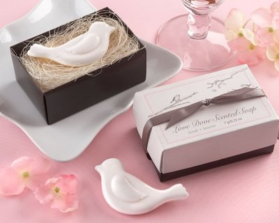 ☆命中注定☆愛情鳥手工香皂,婚禮小物二次進場,歐美禮品.
