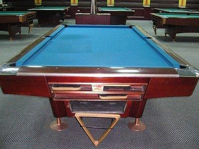 ☆╮☆中古.二手.撞球台 4代Brunswick 進口台撞球桌廉售35000(營業用撞球檯) ☆╮☆
