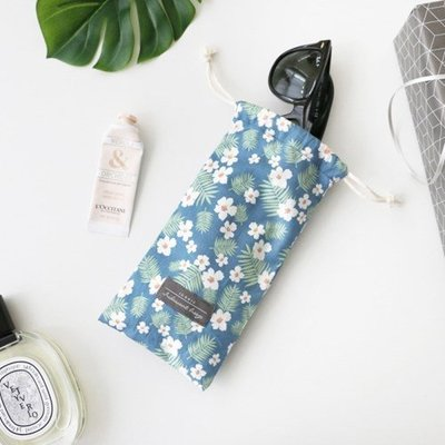 ❅PAVEE❅ 韓國iconic~Comely String Pouch Long 本質生活 棉質抽繩長款旅行收納包
