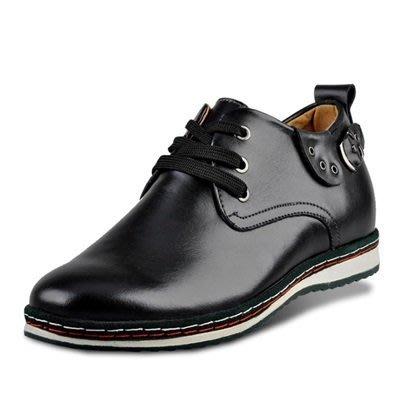 增高 鞋 真皮 皮鞋(零碼賠售出清、恕不退換)-英倫時尚商務休閒男鞋子73pd47[獨家進口][米蘭精品]