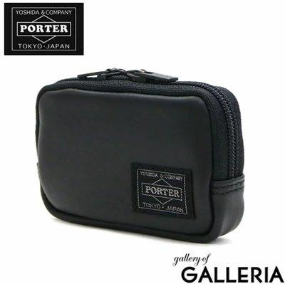 《FOS》日本製 PORTER ALOOF 吉田 錢包 零錢包 小牛皮 小包 信用卡 悠遊卡 鑰匙 出國 時尚 新款