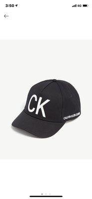 (現貨)CALVIN KLEIN Initial logo cotton cap  經典Logo棒球帽