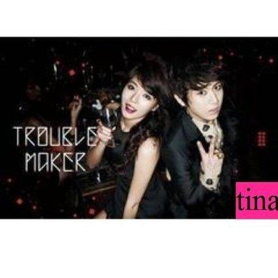 BEAST張賢勝4minute泫雅Trouble Maker-Trouble Maker韓國原版第一張迷你專輯全新未拆下標即售