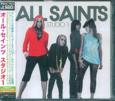 K - ALL SAINTS - Studio 1 - 日版 +2BONUS - NEW