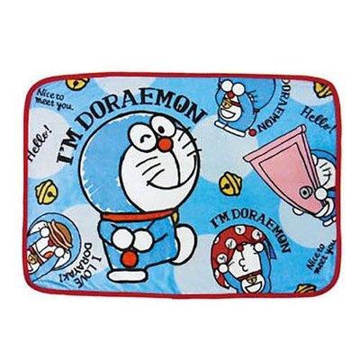 哆啦a夢小毛毯 小被子 空調毯 小叮噹 任意門 時光包巾 日本正版~彤小皮的遊go世界