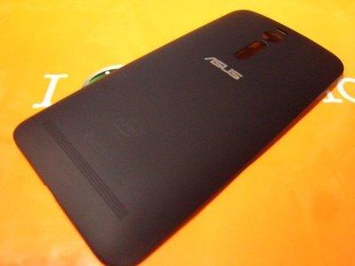 <旦通科技>ASUS Zenfone 2 5.5吋 原廠全新 拷漆黑 電池蓋/自取價$300元.原廠零件    商品圖