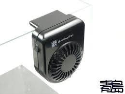 五24↓↓A。。青島水族。。1AMA10014台灣水族達人---小型冷卻風扇(迷你風)Mini Cool Fan==黑色