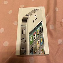 IPhone 4s 白色吉盒 有說明書