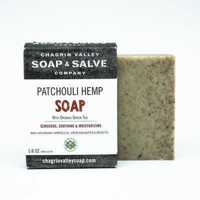 美國Chagrin Valley 有機天然廣藿香淨化調理植物皂 Patchouli Hemp手工皂