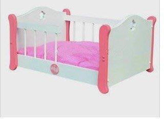欄桿床寵物窩狗木床欄桿床寵物床狗床狗窩貓床送墊子涼席