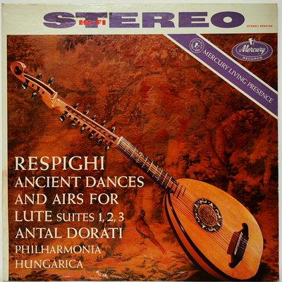 古典黑膠 Respighi 【Ancient Dances and Airs For Lute 】SR90199 首版