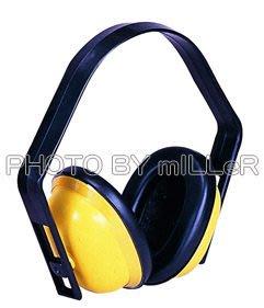 【米勒線上購物】經濟型防音耳罩【環境噪音大 居家施工 讀書專心】送無線耳塞一付