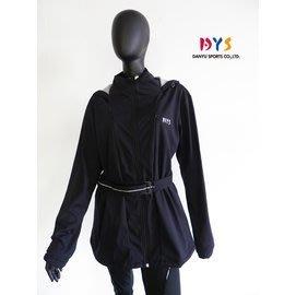 C-0781-1 女生防水高透濕長板外套