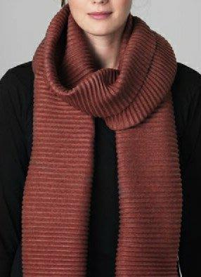 design house stockholm scarf 褶毛絨圍巾 男女可用 北歐櫥窗 瑞典製 台中市