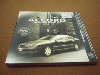 【杜比唱片】 CD ~ ALL NEW ACCORD  //  星期六的中央公園    (未拆封) *** CD ***