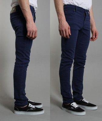 CHEAP MONDAY 瑞典設計 TIGHT OD WORKER BLUE 牛仔褲 深藍 窄管色褲 煙管褲 現貨331