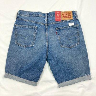 衝評 8216 CR2 Levis511 最大40腰 牛仔藍 短褲 下擺不修邊 無破洞 修身 丹寧 牛仔褲 牛仔短褲