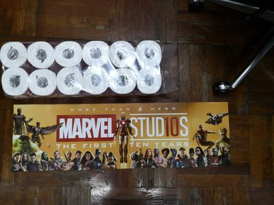 marvel 10周年banner poster