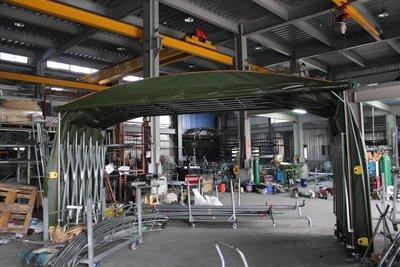 《 龍門帆布 》鋁架帆布、伸縮帆布、遮雨棚、遮陽棚、活動車庫、訂做車庫