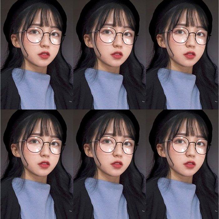 滿三件折80 滿千折百 免運 新款ins有度數可配近視眼鏡框網紅款復古適合圓臉的眼鏡女韓版潮