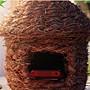 鳥窩 草編 鳥窩鳥巢 裝飾 珍珠 文鳥鳥窩 玩具鳥籠 大號181818