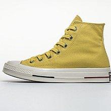D-BOX  Converse All Star 70s 1970s 高筒 經典 復古 帆布鞋 檸檬黃 160498C