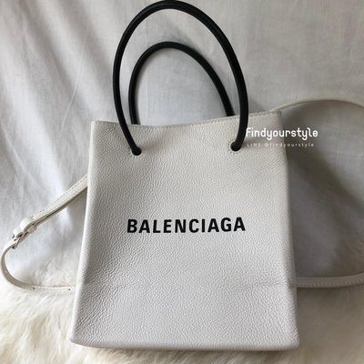 Findyourstyle 正品代購 Balenciaga 白色Tote