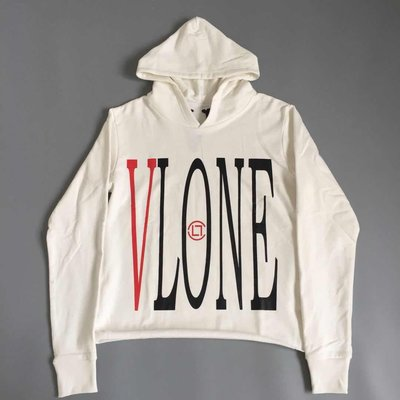 【P+C】Vlone x Clot Dragon Hoodie 陳冠希 聯名 龍 長袖 帽T 連帽 外套 男女 白色