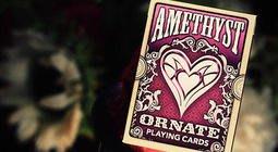 [MAGIC999] 魔術道具 ORNATE Deck PLAYING CARDS Amethyst 華麗甲板 紫水晶