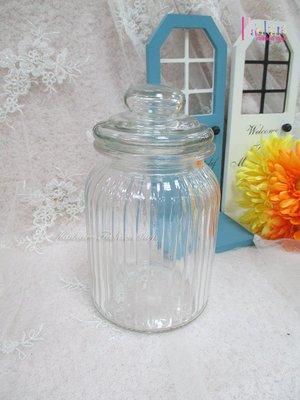 ☆[Hankaro]☆創意流行玻璃含蓋糖果罐(樣品出清)