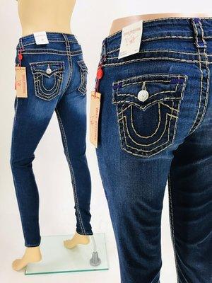 @專櫃3折@TRUE RELIGION SUPER T 彌勒佛牛仔褲 Super Skinny Super T