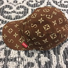used supreme mongram military box cap hat rare only