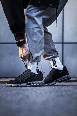 Study x Nike Air Zoom Spiridon Caged 2 黑色 慢跑鞋 男女鞋CQ5486-001