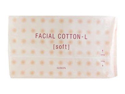 【小喻美妝】ALBION艾倫比亞。按摩化妝棉 120片入。現貨。健康化妝水 滲透乳專用。120枚入