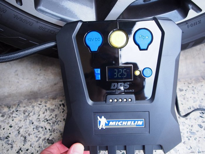 【ToolBox】米其林/一年保固內故障換機/保修三年/胎壓預設/打氣機/充氣機/4398ML/12266