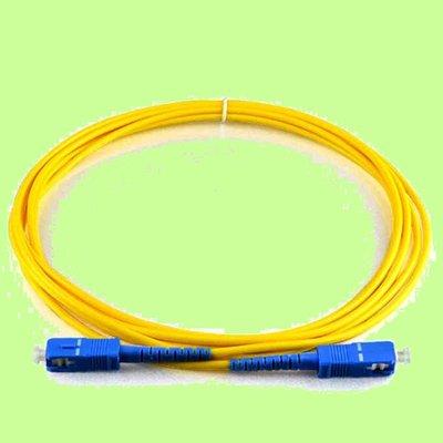 5Cgo【代購】電信級SC-SC單模單芯光纖跳線3米另有多模雙芯LC-LC LC/UPC LC/UPC SM 3M 含稅
