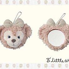 *B'Little World * [現貨] 東京迪士尼海洋限定商品/雪莉玫毛絨絨隨身鏡/shelliemay/東京連線