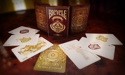 【USPCC 撲克】Bicycle collector's deck -酒紅色