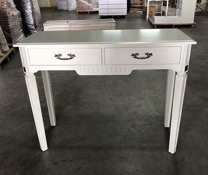 溫馨小舖 J&J Store 白色家俱 歐式玄關桌 書桌  歐式化妝桌 白色玄關桌 白色化妝桌 白色書桌 桌面85公分高