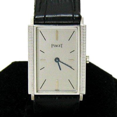 順利當舖  PIAGET/伯爵  原裝18K白金高品味超薄型機械男女通用錶款